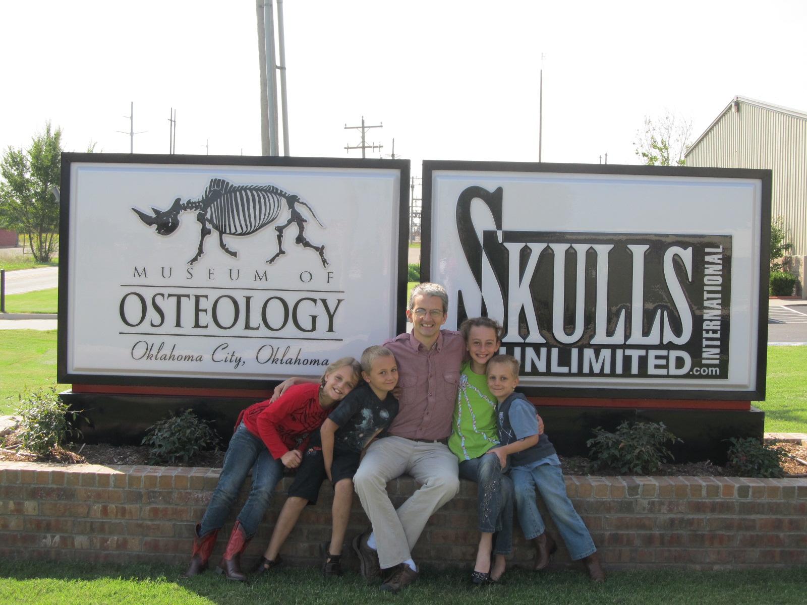 Barns Family USA Odyssey Osteology Museum Oklahoma City - Museum usa jobs
