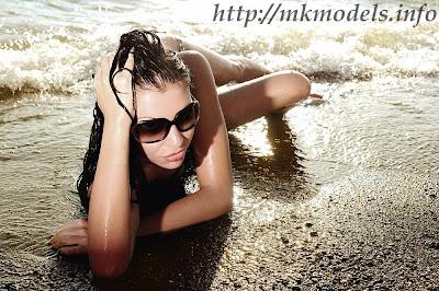 Slagjana Cvetkovska - Summer Photoshoot by Bojan Stoilkovski