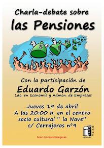 Charla debate sobre las pensiones con Eduardo Garzón