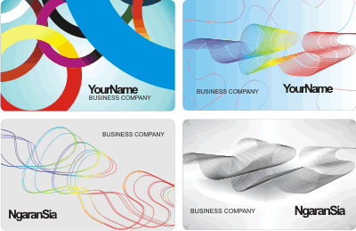 Business Cards Cdr Vector