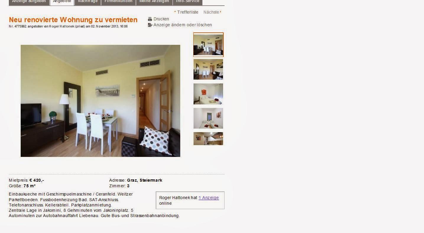 neu renovierte wohnung zu vermieten graz steiermark. Black Bedroom Furniture Sets. Home Design Ideas
