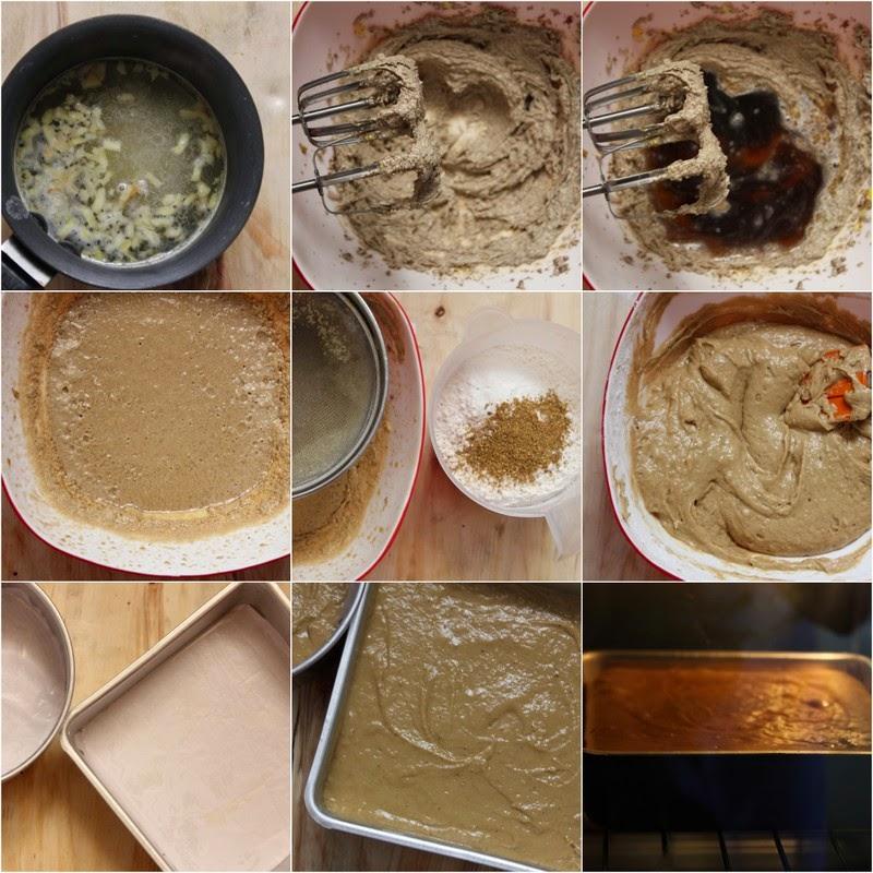 Garam Masala Spiced Gingerbread Cake with Nolen Gur