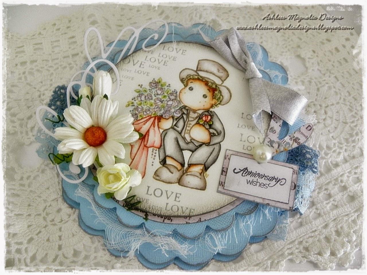 ashlees magnolia designs anniversary card featuring edwin