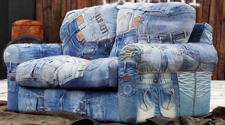 Juggaar Hack your life Jeans sofa