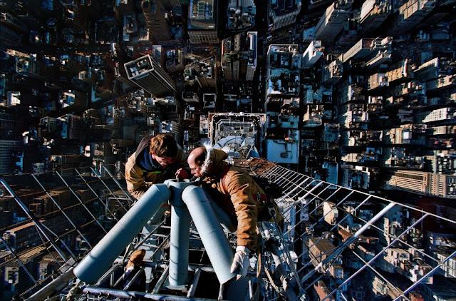 Todo depende de la perspectiva – 12 espectaculares vistas mirando hacia abajo