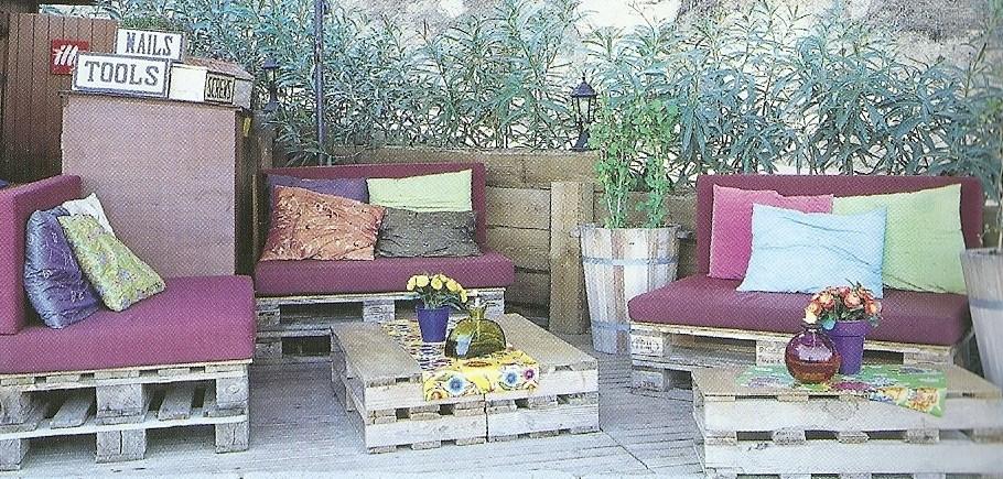 decoracao jardim paletes : decoracao jardim paletes:Moveis De Madeira Com Paletes
