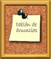 TABLON DE ANUNCIOS