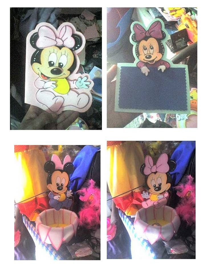 Rincon Manual Paola: COTILLON WINNIE POOH Y MINNIE, MICKY MOUSE