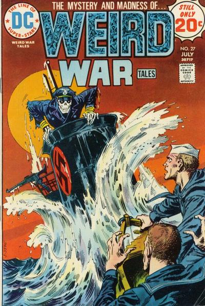 Weird War Tales #27
