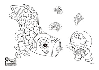 Yellow Coloring Pages Doraemon Coloring Pages