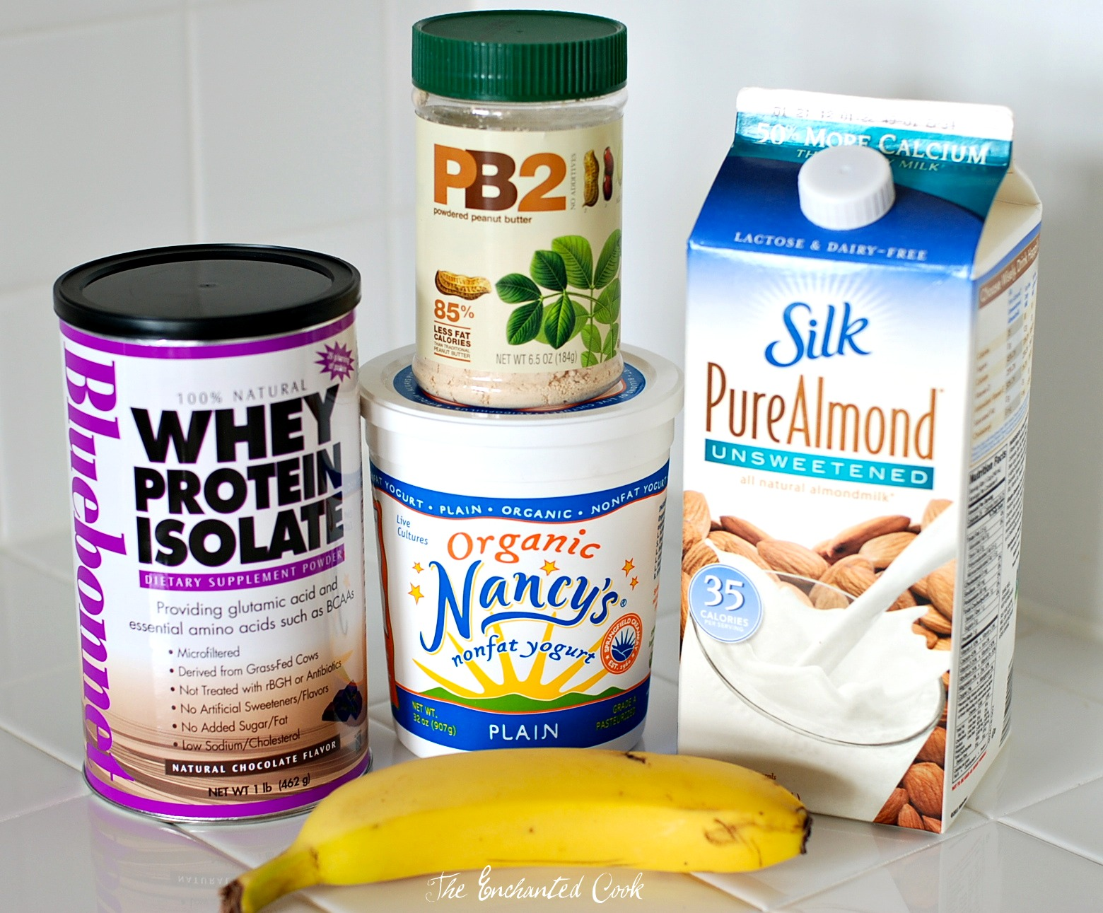 "The ""magic"" ingredients to the best protein shake ever!"