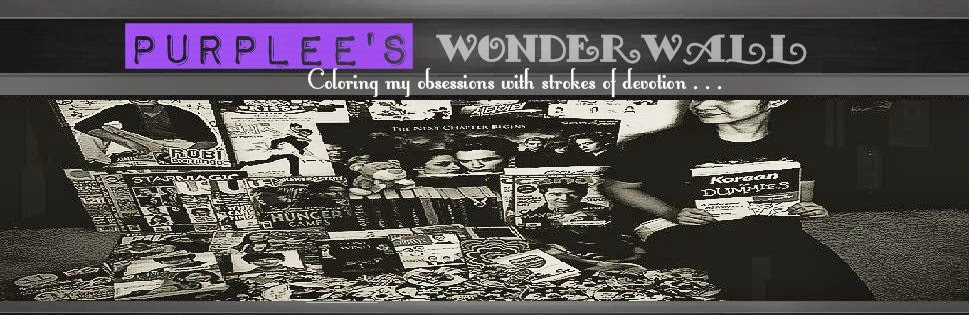 PurpLee's Wonderwall | Coloring My Obsessions with Strokes of Devotion