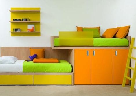 I d e a habitaciones a todo color para ni s - Habitaciones pintadas para ninos ...