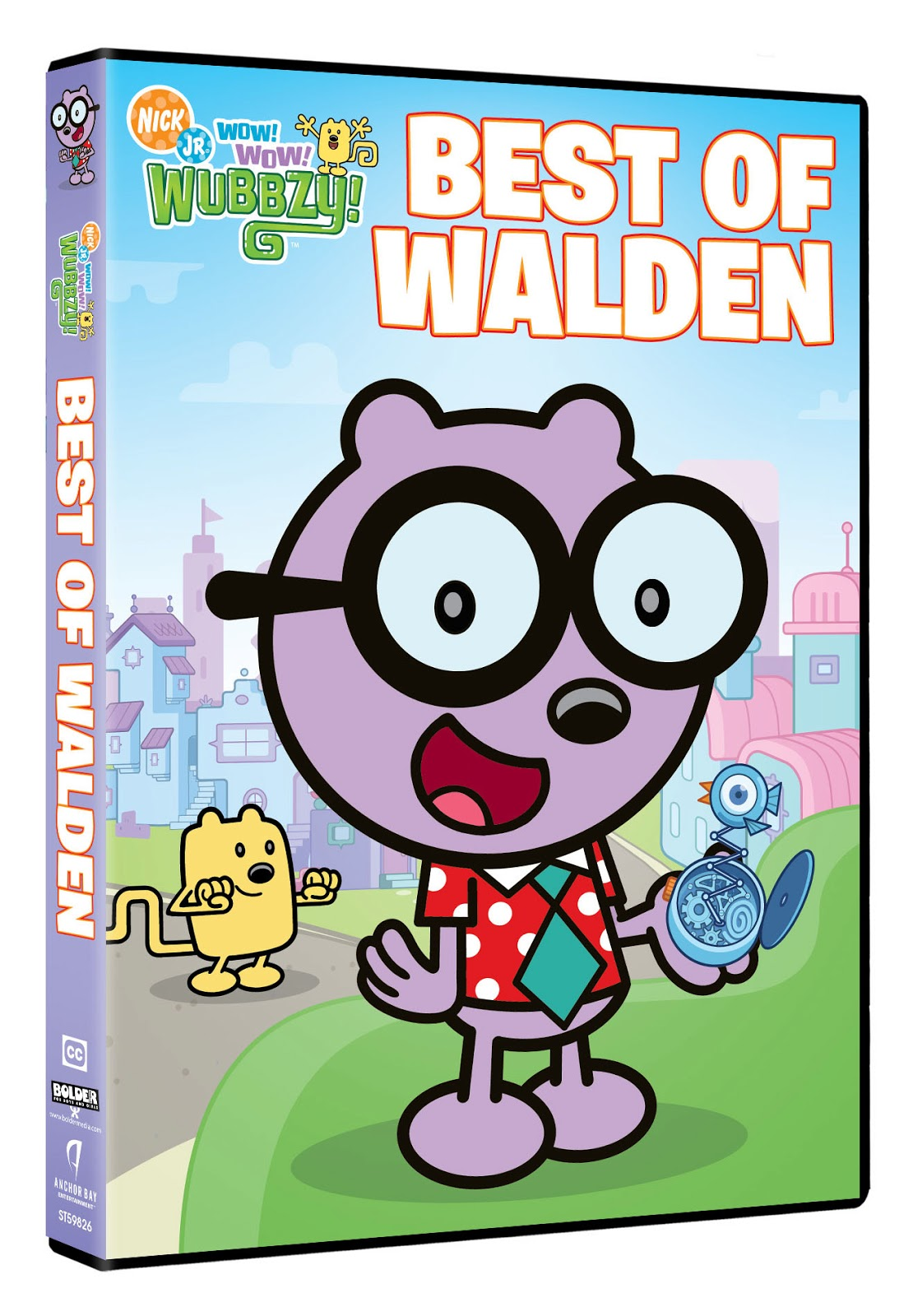 Eccentric eclectic woman wow wow wubbzy best of walden dvd review