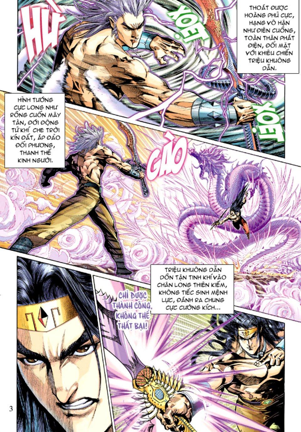 Thiên Tử Truyền Kỳ 5 - Như Lai Thần Chưởng chap 214 - Trang 4