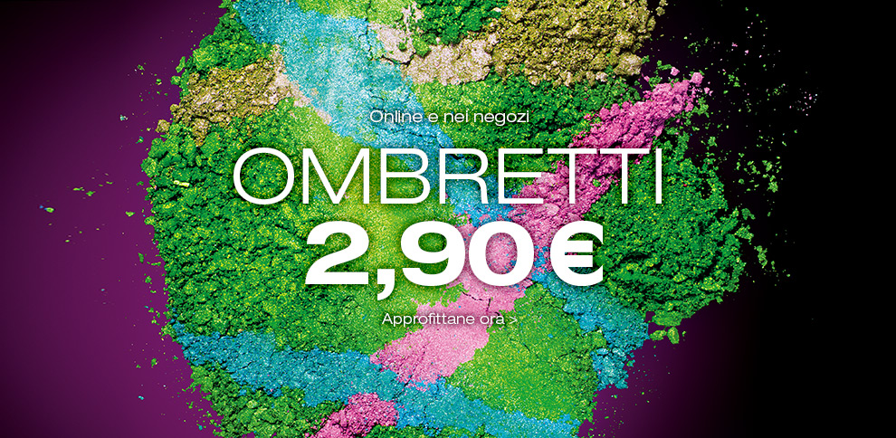 KIKO - Ombretti a 2,90€