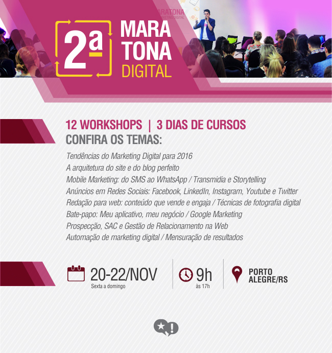 2ª Maratona Digital em Porto Alegre