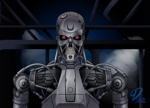 Terminator T-800 por YulayDevlet