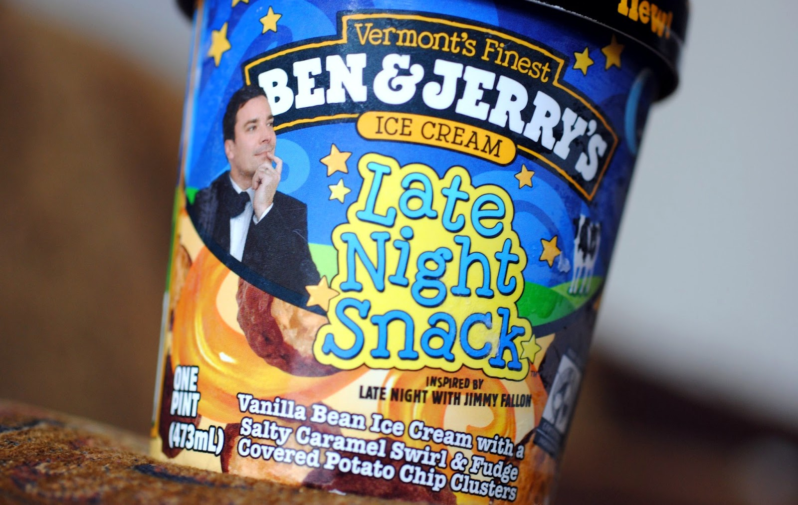 The Ice Cream Informant: REVIEW: Ben & Jerry's Late Night Snack
