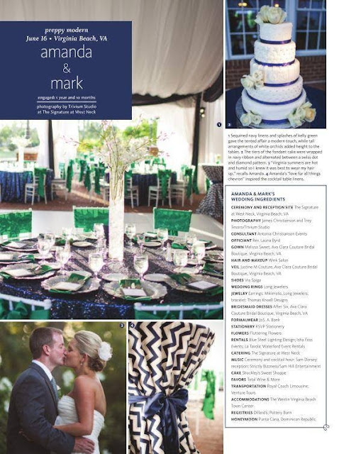 Isha Foss Events custom tent draping feature in The Knot