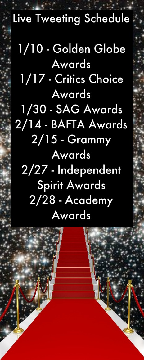 Awards Season Schedule