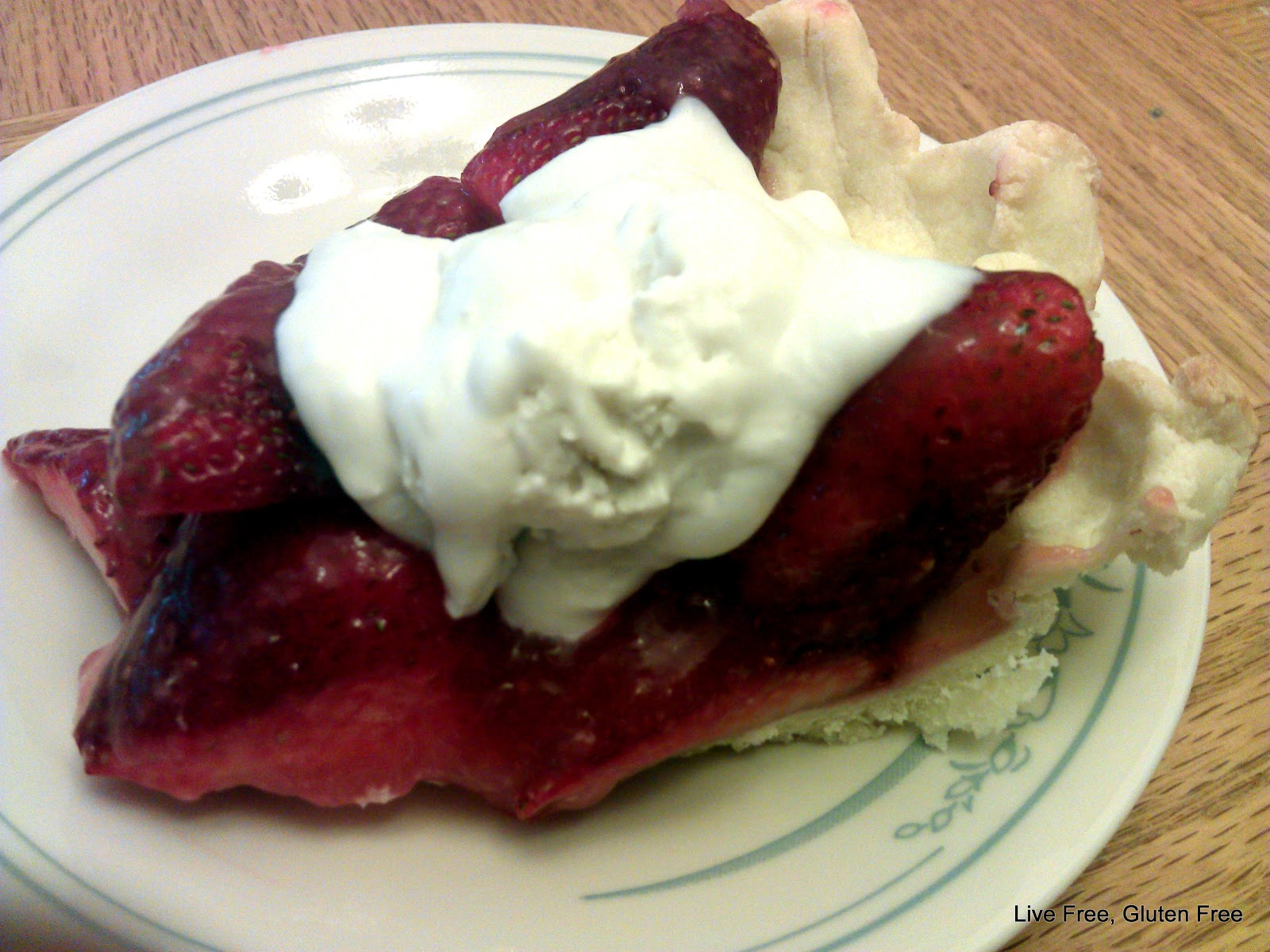 Fresh Strawberry Pie With Whipped Cream Recipe — Dishmaps