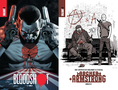 The Summer of Valiant - Bloodshot  & Archer and Armstrong
