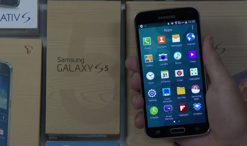 Android L in Samsung GALAXY S5