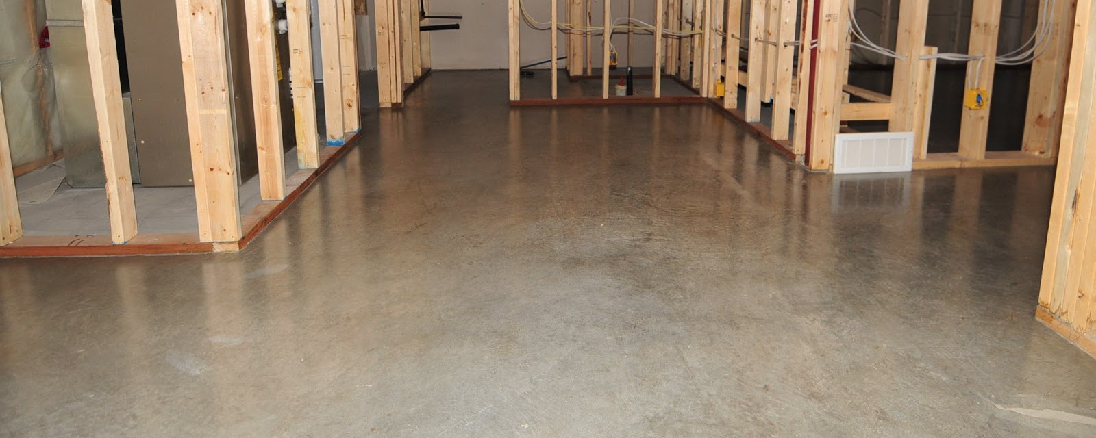Finished Concrete Floors. Staining And Finishing Concrete Floors ...