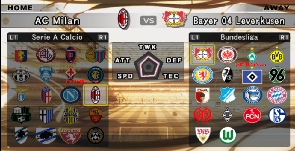 Update PES 6 Musim 2013-2014 September 2013 Terbaru