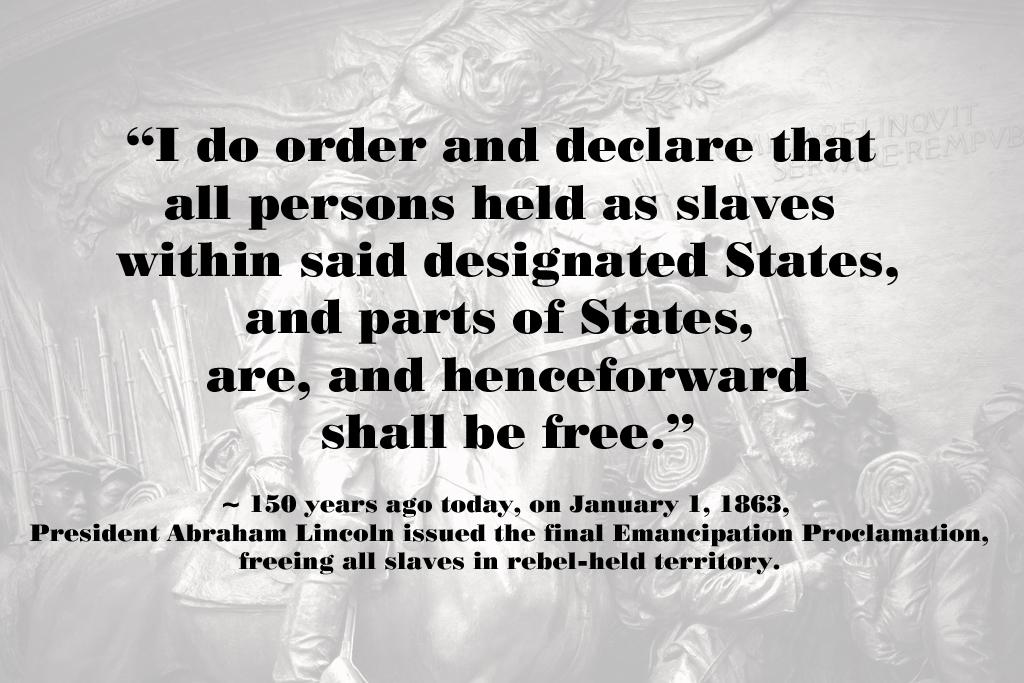 Emancipation Proclamation Quotes Like Success