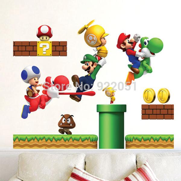 Super mario brothers bedroom decor home bathroom instagrams for Mario decorations