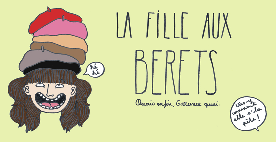La fille aux berets