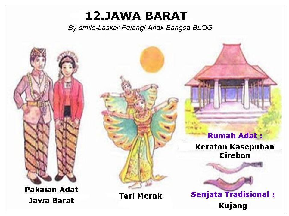Pakaian Rumah Adat Taraian Peta 34 Propinsi Indonesia Sd Negeri