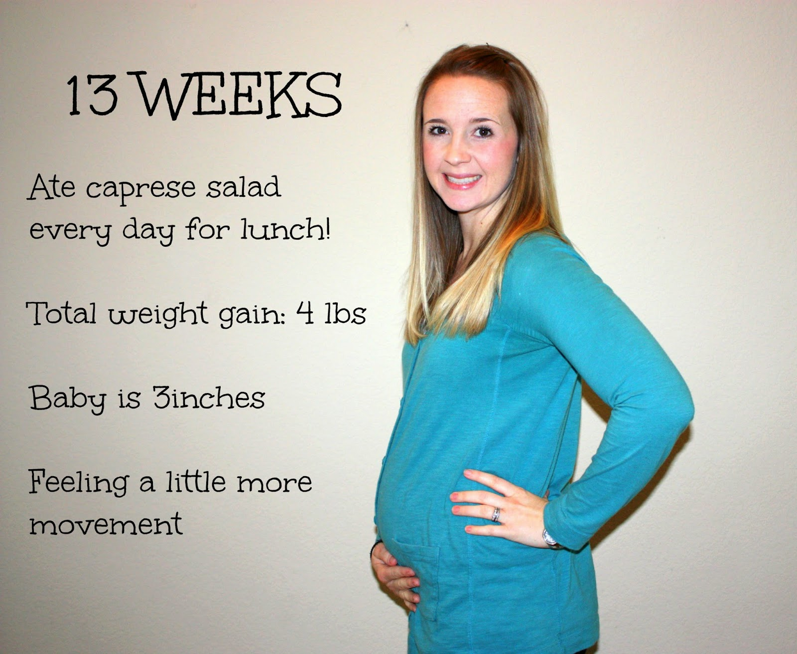 13 Weeks Pregnant Belly 1st Baby