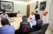 Recibe Astudillo al líder del Frente Popular Francisco Villa