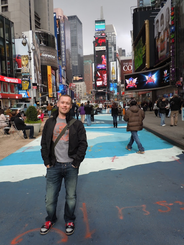 Jason Times Square NYC