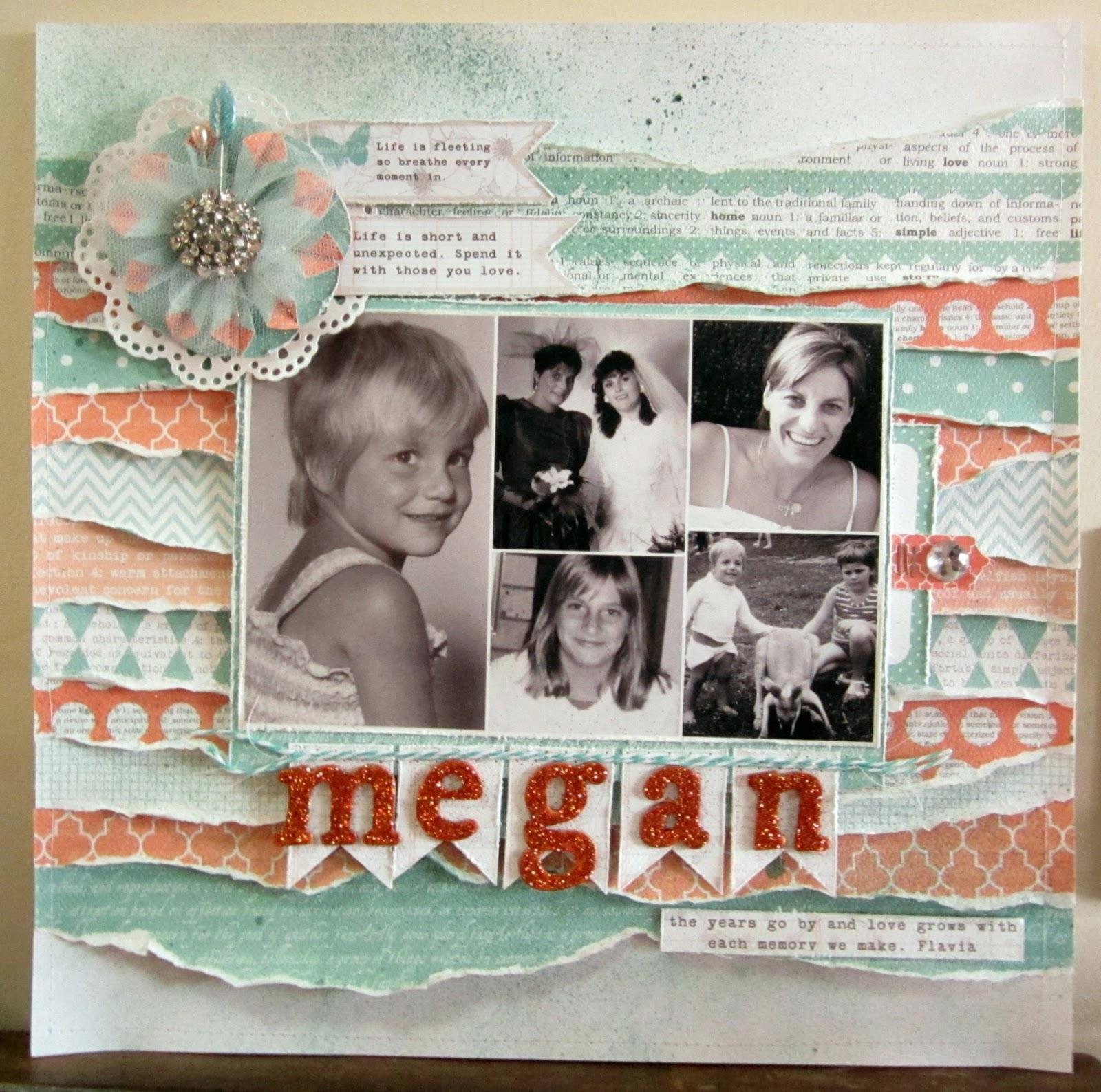 Kerrie Gurney Australian Scrapbook Ideas Magazine 20 Scrap Therapy