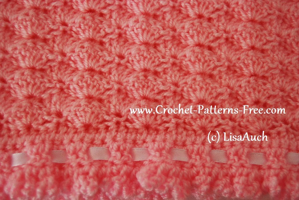 Shell Stitch Free Crochet Baby
