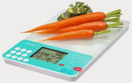 Dietetyczna waga kuchenna Vitammy Light ns 780 z Biedronki