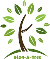 Blog a tree logo