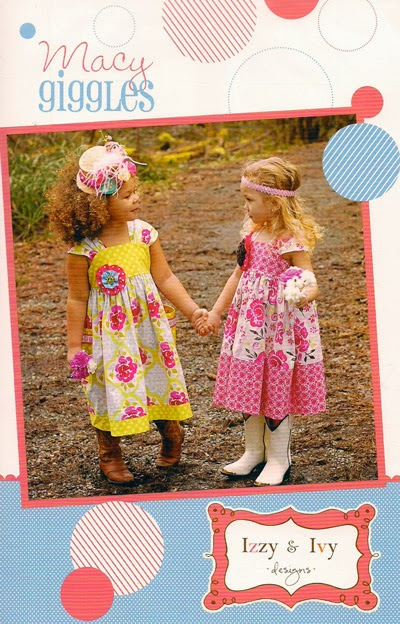 Instruction booklet for adorable girls' sundress. Girls sizes 2t - 14. This booklet contains only the bodice pattern pieces; it includes detailed instructions for sizes, pictures, and skirt pattern guides.