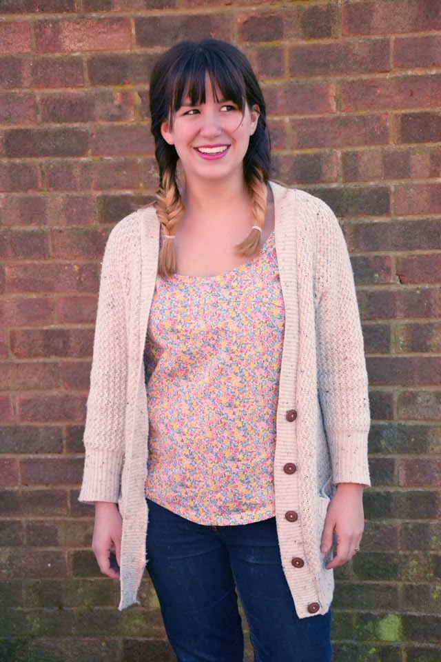 Ditsy Floral Polly Top From By Hand London