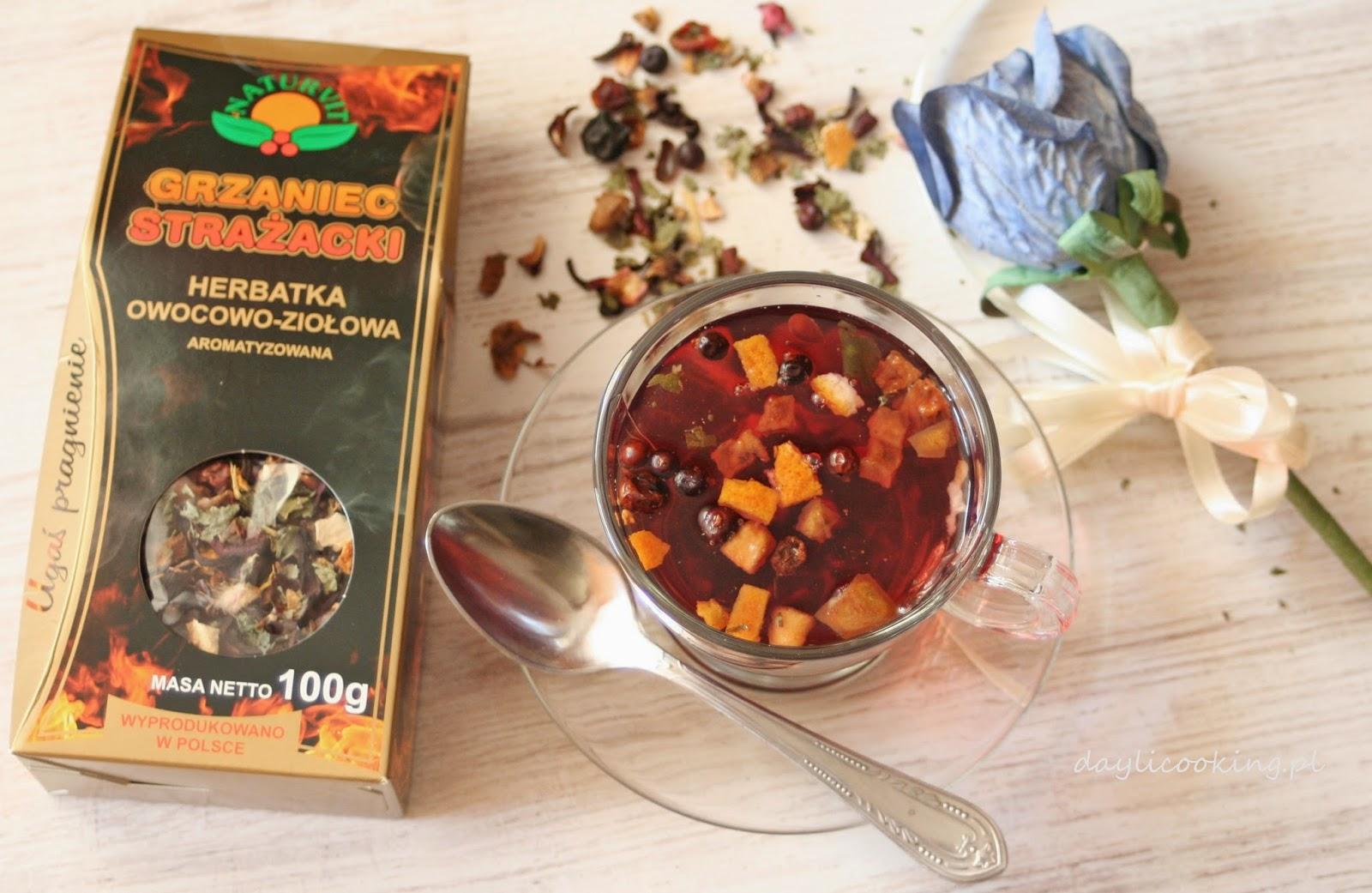 """""""Grzaniec Strażacki"""" - aromatyczna herbata owocowo - ziołowa"""