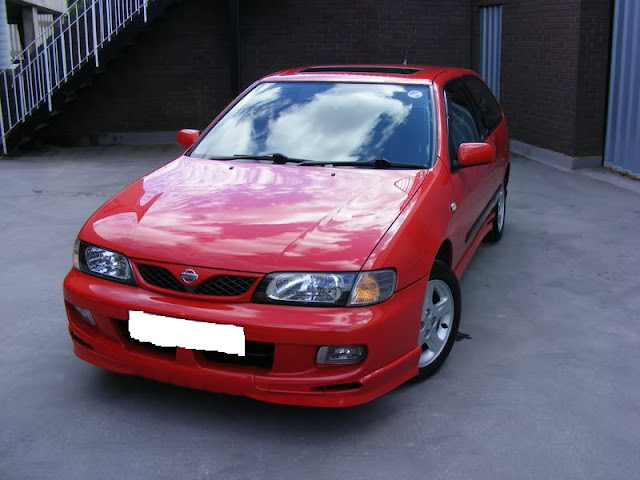 Replica GTI Bodykit for the N15 Nissan Almera / N15 Pulsar VZR sideskirts splitter