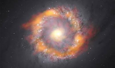 """۱۴۰ میلیون خورشید! چگونه دانشمندان یک سیاهچاله را """"وزن کردند""""؟"""