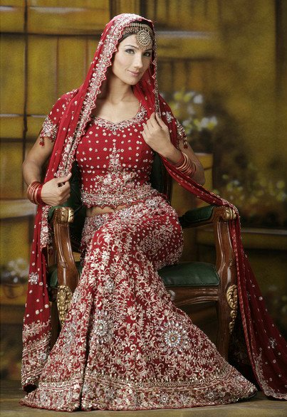 Labels indian bridal lengha