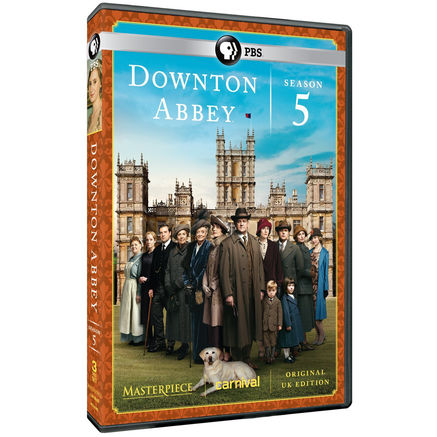 Video case for Downton Abbey season 5