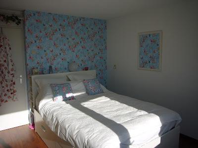 Kianna 39 s creatieve blog slaapkamer gepi m pd - Behang hoofdeinde ...