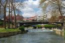 Κεντρική γέφυρα Τρικάλων (Ληθαίος ποταμός)